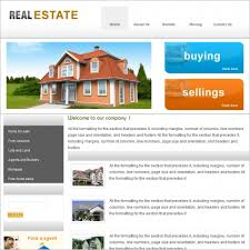 real estate free real estate free website templates in css html js format for free