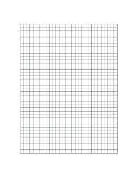 Printable Grid Paper Graph Template In Meters Floor Plan For