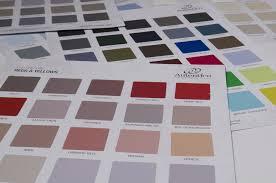 Autentico Hand Painted Colour Charts