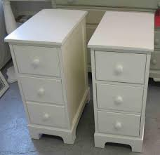 Nightstands: Tall Narrow Nightstands Rustic Nightstands White With Regard  To Endearing Narrow Nightstand Applied To