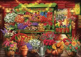 KS Games Çiçekçi Tezgahı 3000 Parça Puzzle - Ciro Marchetti - Ks Games -  KSG23002