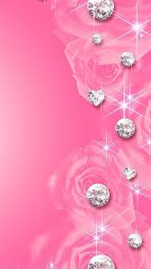 cute pink wallpaper backgrounds for mobile. Diamonds Download More Cute Pink IPhone Android Wallpapers On Wallpaper Backgrounds For Mobile Pinterest