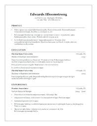 Open Office Resume Template Fascinating Resume Openoffice Template Open Office Template Resume 60 Free Resume