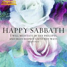 Happy Sabbath Ever Blooming Roses