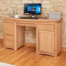 Computer desks for office Person Roscoe Contemporary Oak Home Office Desk Costco Wholesale Computer Desks Home Office Furniture At Wooden Furniture Store