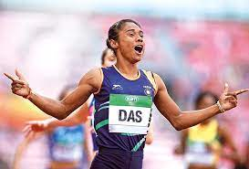 India's leading sprinter hima das took oath as a deputy superintendent of assam police in presence of imminent state. Hima Das Getting A Call From Sachin Tendulkar Was Really Special Off The Field News Times Of India