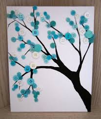 Turquoise Button Branch. This baby's gotten tens of thousands of 'pins' on  pinterest!