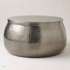 attractive metal drum coffee table 18 silver perth australia freedom round hammered cross amazing unique accent