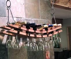 unique wall mounted wine glass rack stemware floating medium size of graceful chandelier es wire diy