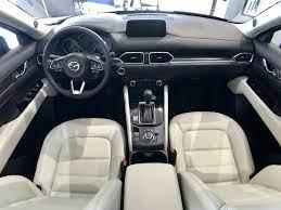 Mazda Cx 5 Has Available Cream Leather Interior Anderson Mazda Rockford Il Mazda Cx5 Interior Mazda Cx5 Mazda