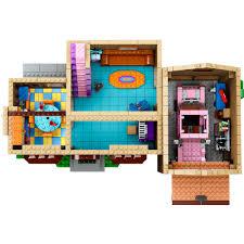 Lego House Plans Lego The Simpsons House Play Set Walmartcom