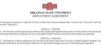 "Arkansas State Football Pokes Fun At Self With ""official"" Coaching ..."