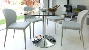pedestal glass dining table fantastic modern round glass table chrome pedestal 4 table glass dining horrifying