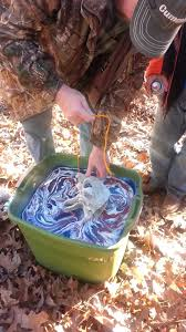 spray paint hydro dipped cow skull