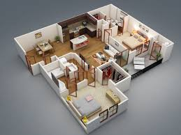 2 bedroom 2 bath house plans.  Bedroom In 2 Bedroom Bath House Plans U