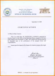 Exelent Template Certificate Of Employment Gift Documentation