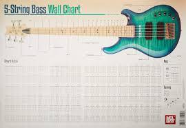 Basic 4 String Bass Chord Chart 5 String Bass Chord Wall Chart Corey Dozier 9780786685677