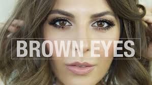 how to make your brown eyes pop