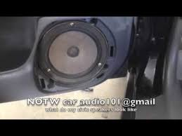 Honda Civic Speaker Size Chart What Do My 1996 2000 Honda Civic Speakers Look Like