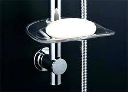 shower soap holder shower soap dish adjule head slide rail bar th basket ideas holder tile