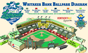 Whitaker Bank Ballpark Seating Chart Concert 14 For Two Tickets To See A Lexington Legends Baseball Game At Whitaker Bank Ballpark Up To 30 Value
