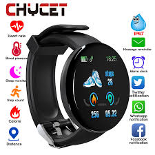 2019 Bluetooth <b>Smart Watch Men Blood</b> Pressure Round ...