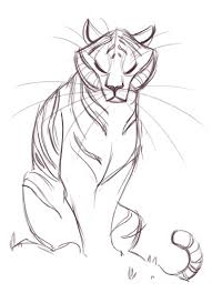 easy tiger pencil drawing. Fine Pencil Easy Tiger Drawings In Black And White 181 Sketch  Animali  Pinterest Pencil Drawing