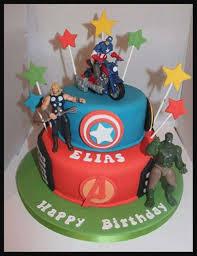 Avengers Birthday Cake Birthdaycakeformancf
