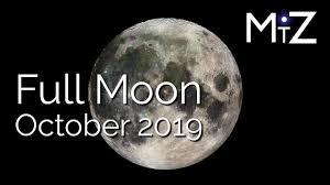 Full Moon October 2019 True Sidereal Astrology