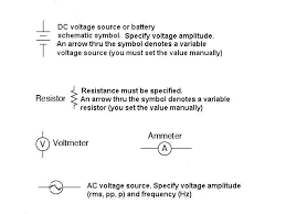ent 171 schematic diagram symbols you must know basic components dc voltage source battery resistors