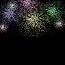 new years fireworks background. Exploding Fireworks Background For New Years Or Independence Cel Stock Photo Colourbox In