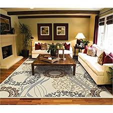 Amazoncom Modern Rugs For Living Room Cream Rug 5 by 8 rug luxury