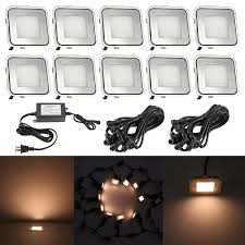 Dekor Outdoor Led Stair Light Kit Qaca Led In Ground Lights Kit Low Voltage 0 6w Outdoor