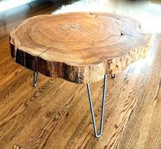 lovely tree slice table t7056061 garage dazzling tree slice table 1 log coffee round tables tree