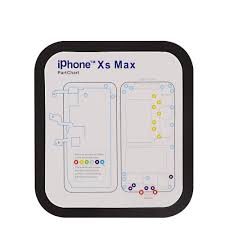 Iphone Screw Chart New Part Chart Magnetic Screw Mat Maps For Iphone 6 6p 6s 7 7p 8 8p X Xs Max Xr Repair 1pcs Magnetic Screw Mat And 12pcs Phone Part Chart Assembly