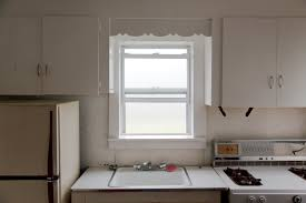 kitchen and fog in the window