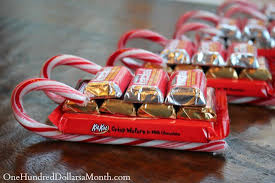 Christmas Decorations Using Candy Canes Easy Kids Christmas Candy Crafts Candy Cane Sleigh One Hundred 38