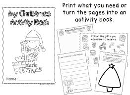 Christmas Worksheets and Booklet – No Prep – Little Lifelong Learners