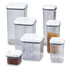 Oxo Bathroom Accessories Oxo Good Gripsar Square Food Storage Pop Container Bed Bath Beyond