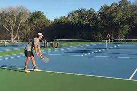 serve s up newks 31 courts both hard and clay are tucked into the hill country woods
