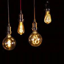 whole 6w dimmable st64 g125 soft filament pendant light bulb 2200k warm light for home restaurant decoration commercial pendant lighting foyer pendant