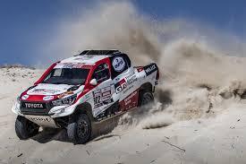 Toyota Enters 2019 Dakar With Three Bespoke Hilux Pickup Trucks ...