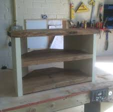diy corner tv stands shabby chic chunky solid wood corner stand solid wood rustic eggshell white diy corner tv stands
