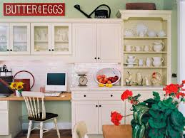 Small Kitchen Desk Small Kitchen Cabinets Pictures Ideas Tips From Hgtv Hgtv