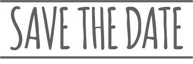 Image result for save the date logo