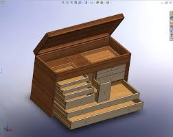 wooden machinist tool chest plans free designs