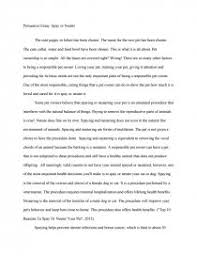 persuasive essay spay or neuter research paper similar essays