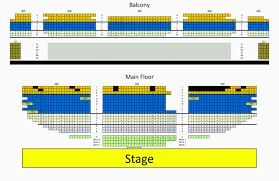 Arcadia Theater Seating Chart