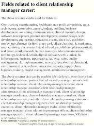 Client Relationship Management Resume Employee Relations Manager Resume Samples Coordinator Mmventures Co