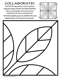 Symmetry ART Activity - 5 Free Coloring Pages - Art for Kids ...